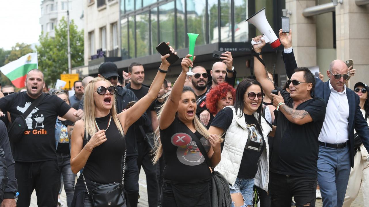 Протестите на бизнеса продължават