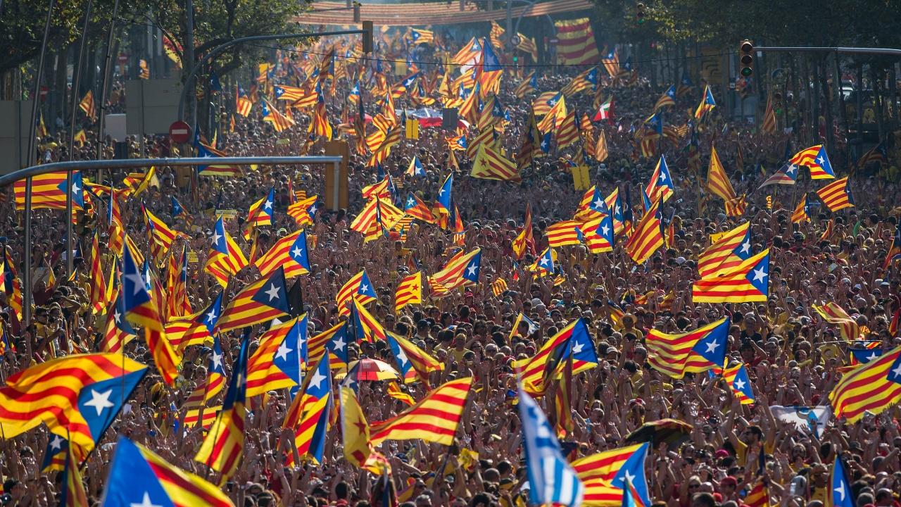 Каталуния чества националния си празник Диада