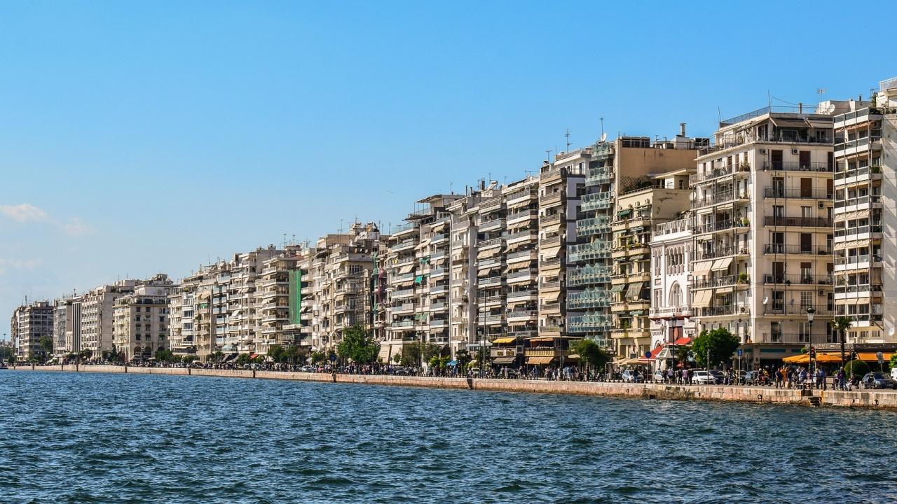 Протест срещу антиковид мерките в Солун