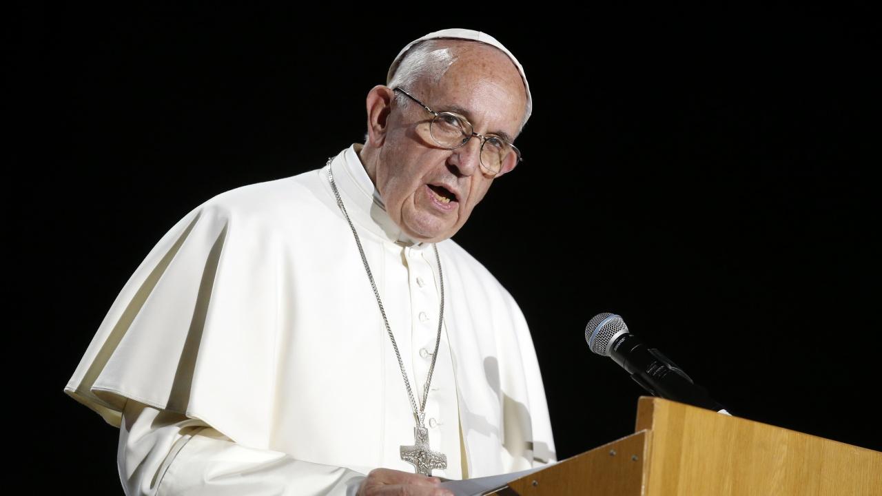 Папа Франциск призова за борба с възхода на антисемитизма