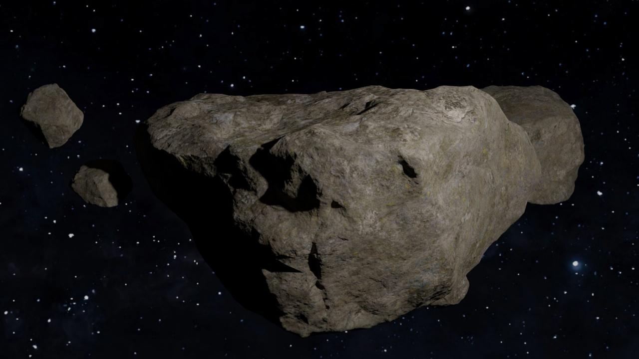 Заснеха астероид, приличащ на кучешки кокал