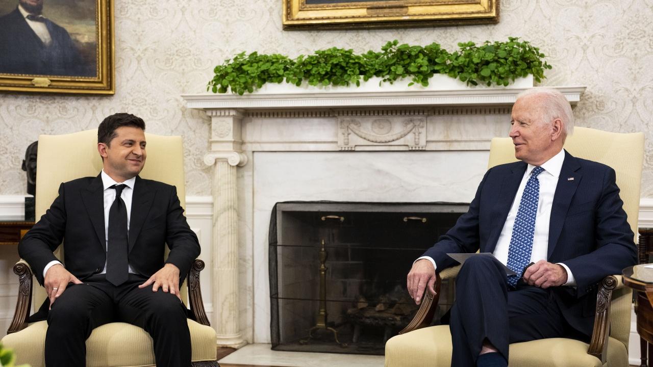 Зеленски: Джо Байдън поддържа стремежа на Украйна да се присъедини към НАТО