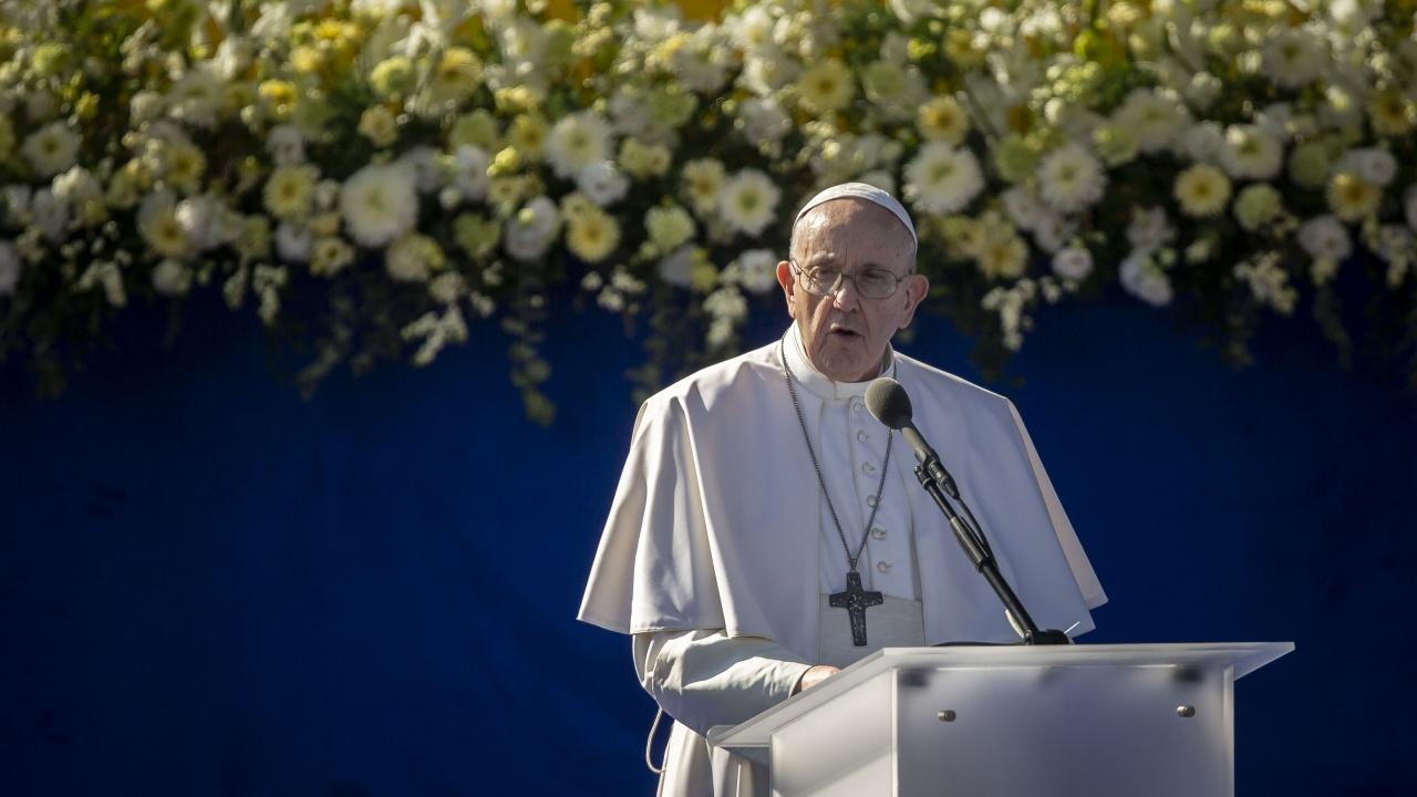 Папата в Словакия: Колко много благородни хора страдаха и умряха тук в името на Христос