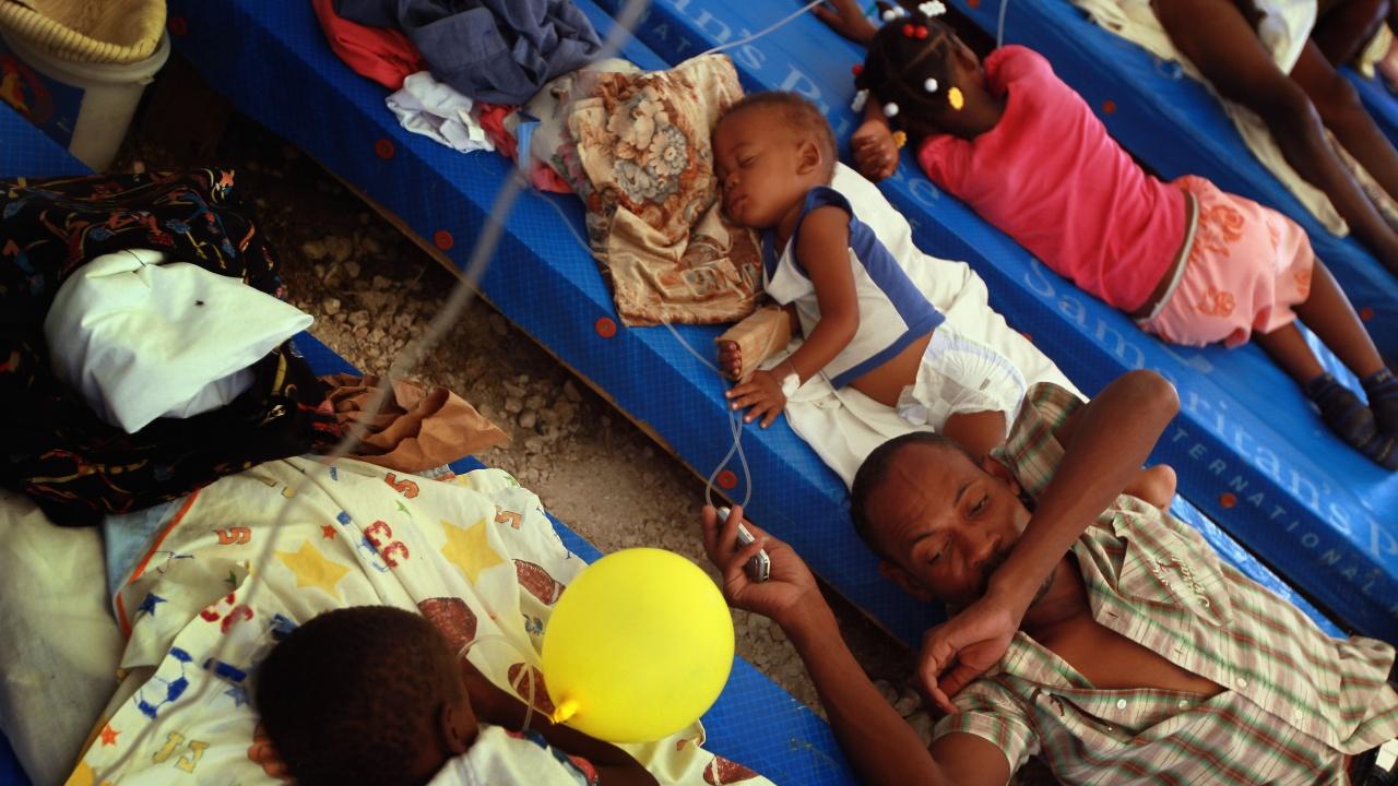 Нигерия преживява един от най-тежките епидемични взривове на холера от години
