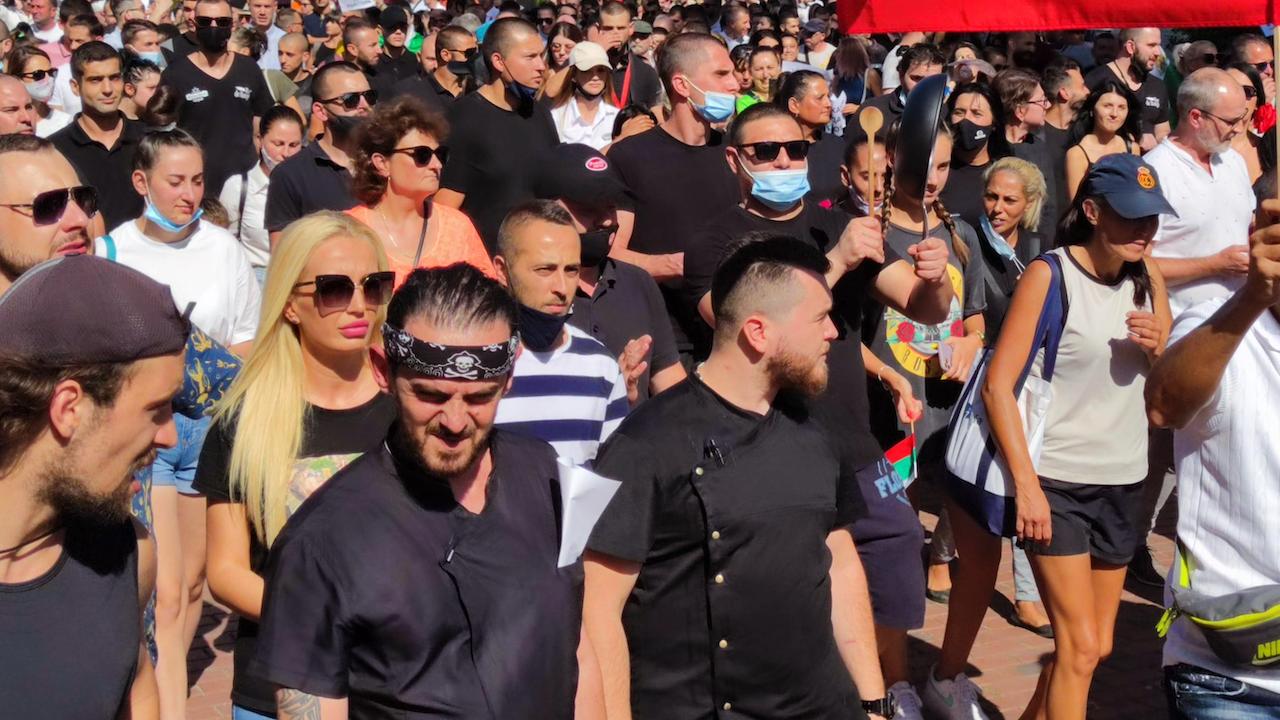 Протест във Велинград с ултиматум към правителството
