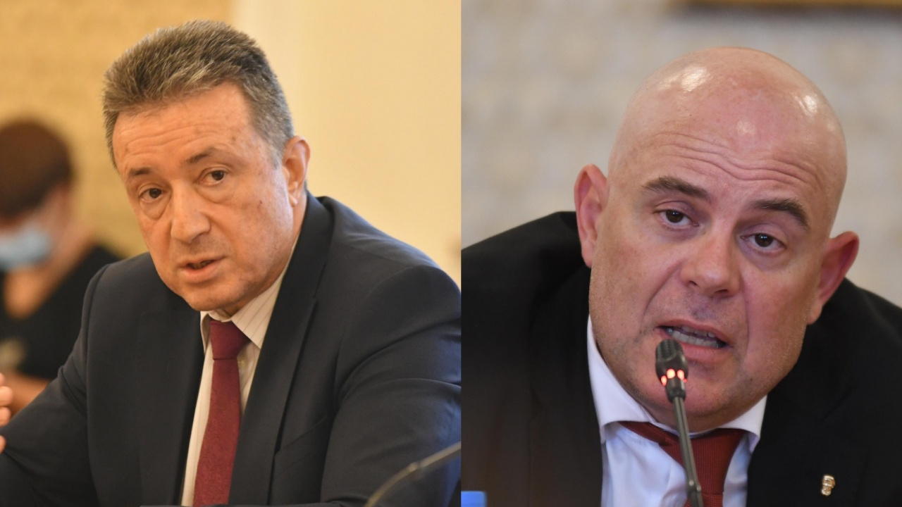 Янаки Стоилов се срещна с Иван Гешев