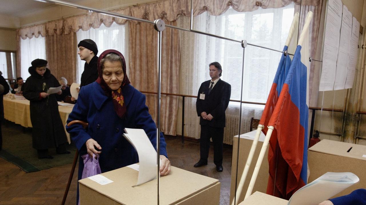 Избори в Русия днес