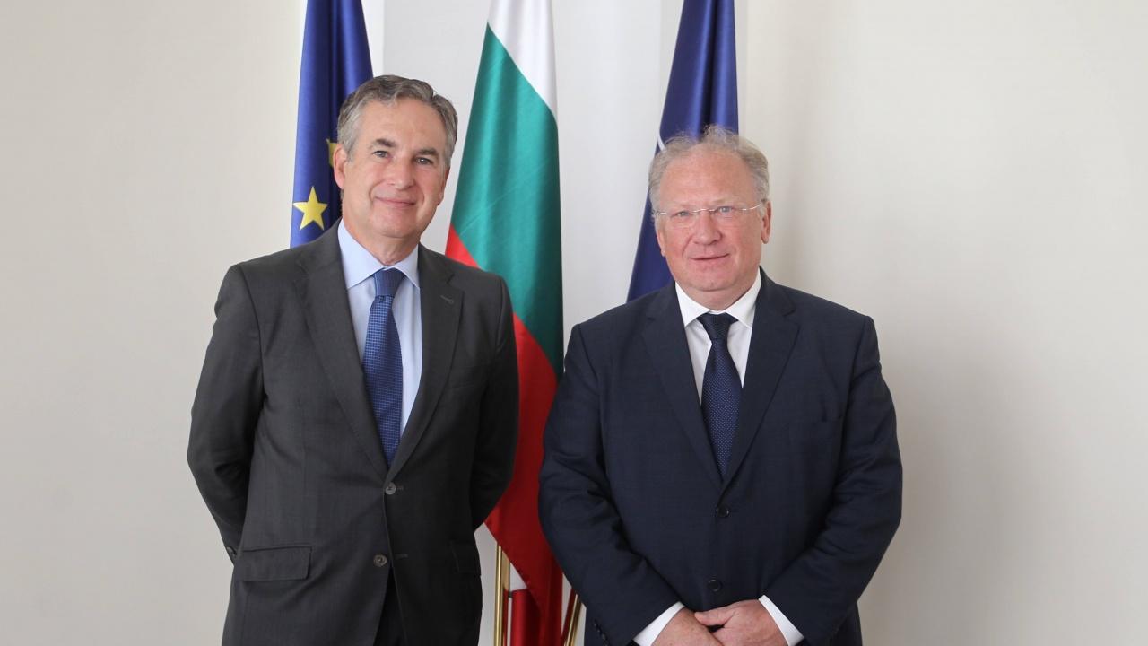 Външният министър Светлан Стоев проведе среща с посланика на Испания