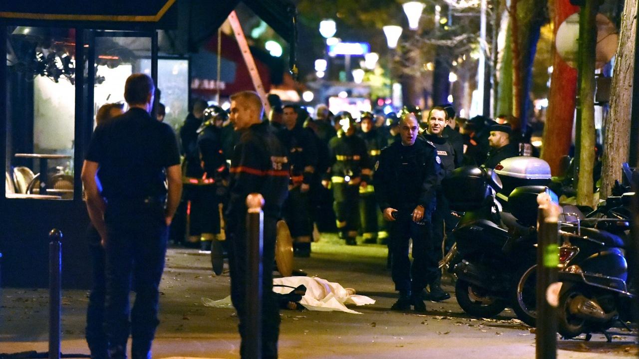 """Зала """"Батаклан"""" приличаше на военна зона, заяви разследващ на процеса за атаките в Париж от 2015 г."""