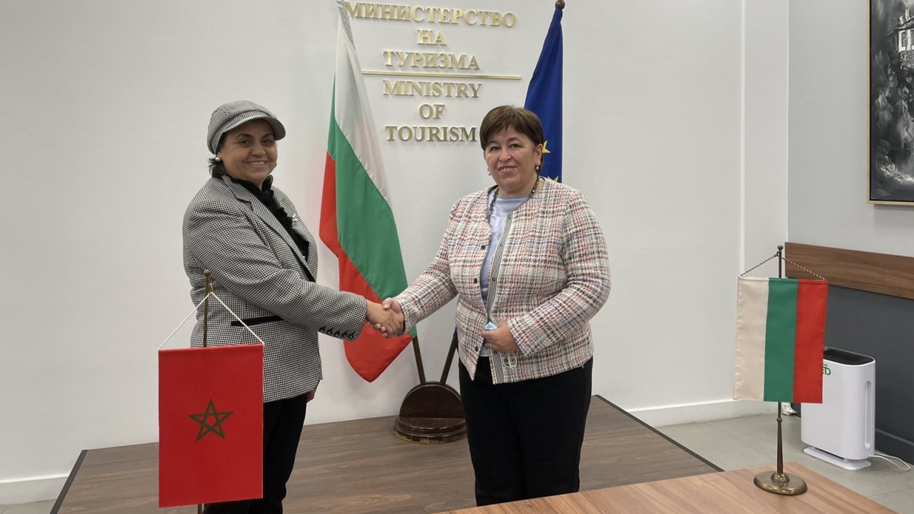 Стела Балтова прие на работна среща Н. Пр. г-жа Закия Ел Мидауи, посланик на Кралство Мароко в София