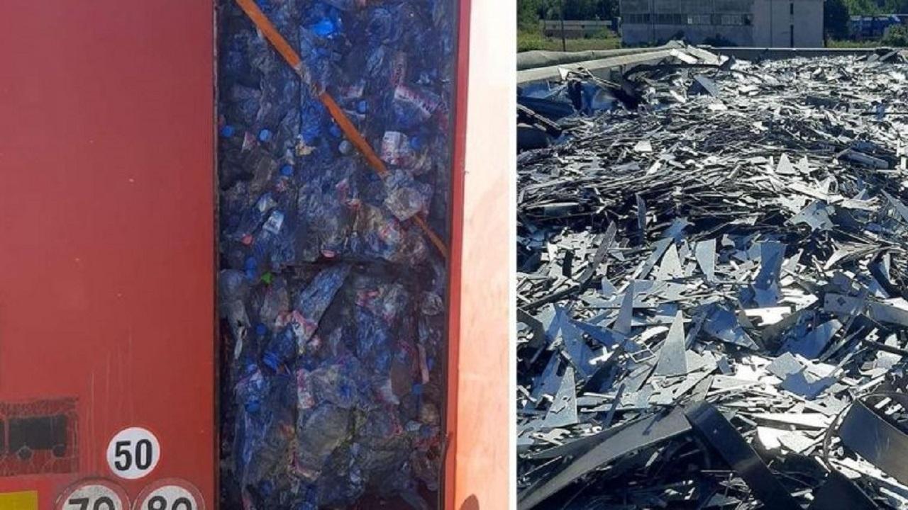 Над 37 тона боклук от България спряха на Дунав мост румънските власти