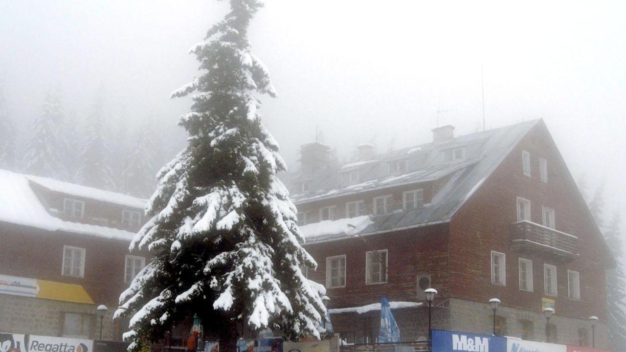 Първи сняг падна на Витоша
