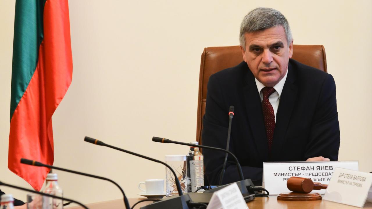 Стефан Янев назначи четирима нови зам.-министри и освободи един