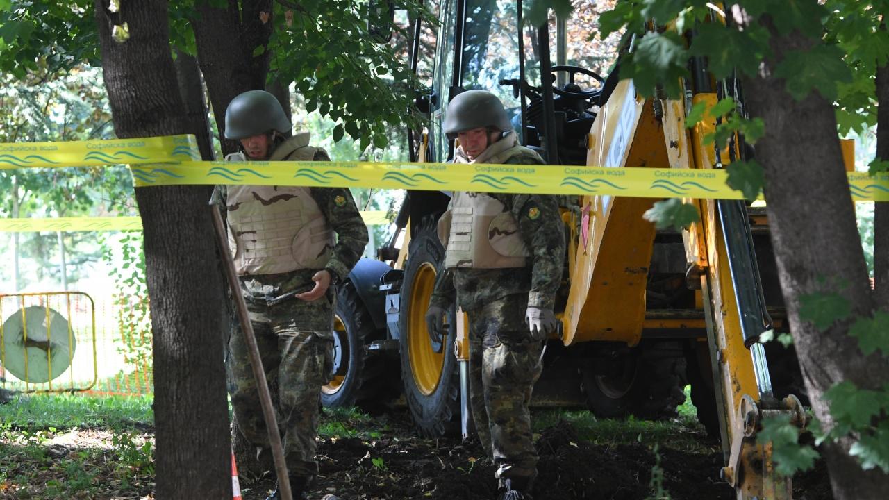 Корозирал снаряд е намерен в Харманли