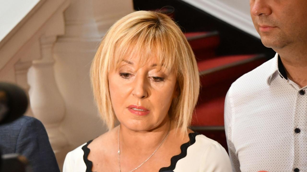 Манолова: Искаме оставката на ръководството на КЕВР