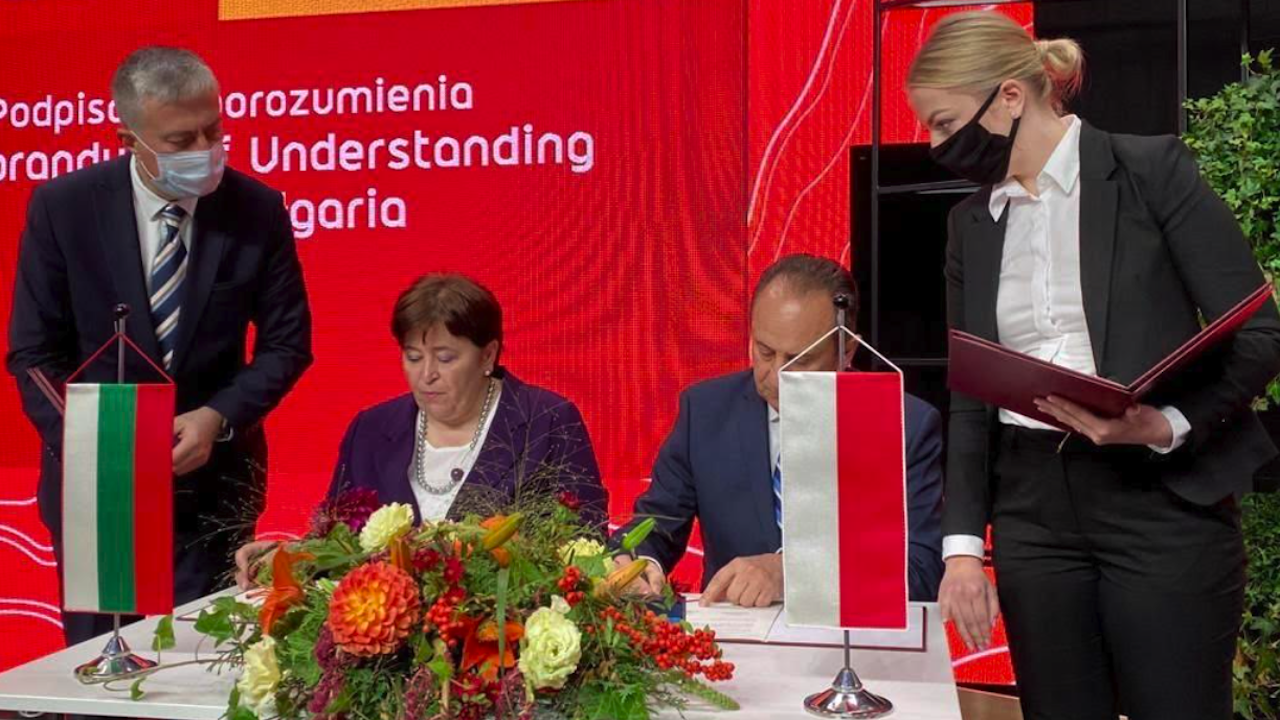 Министър Балтова подписа Меморандум за разбирателство в туризма между България и Полша