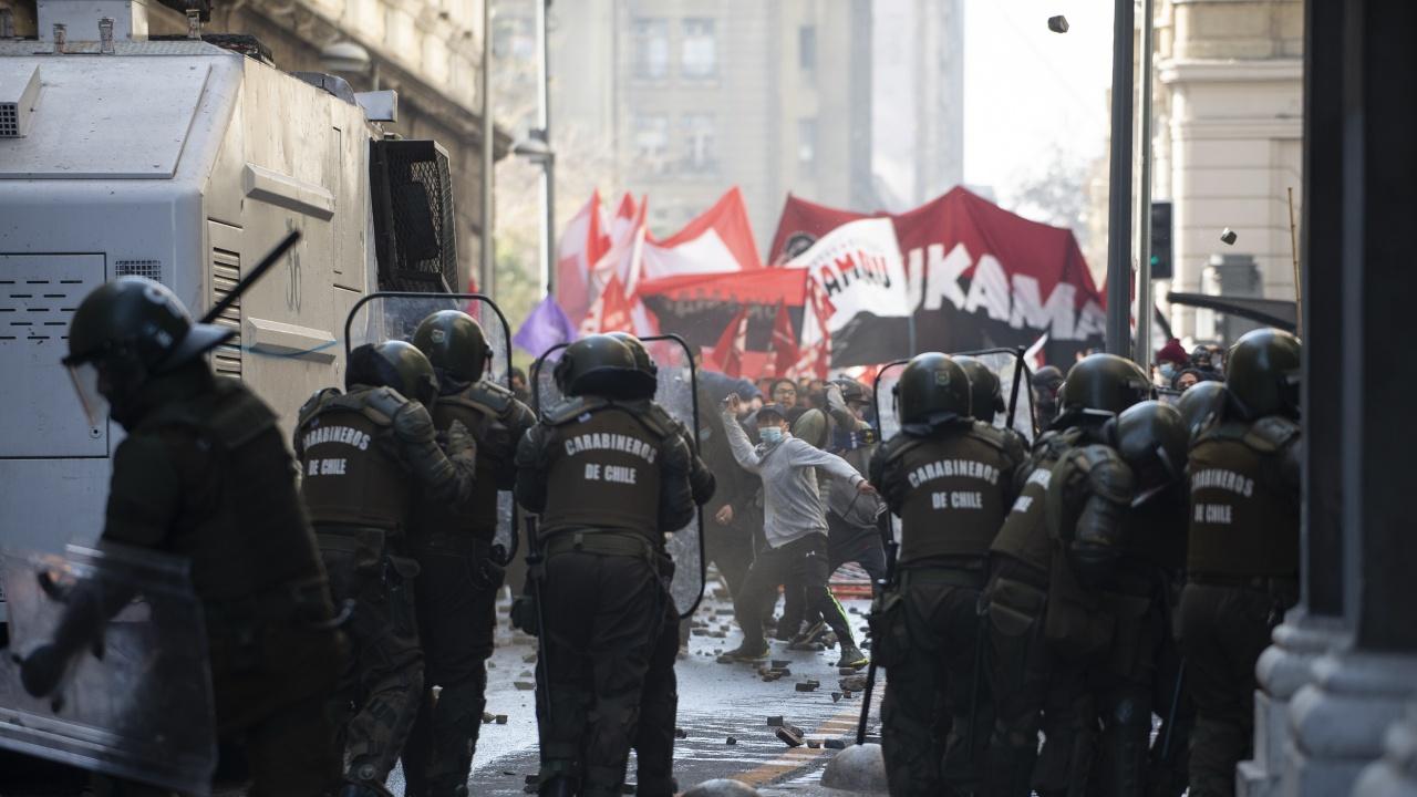 Чилийци протестираха срещу имиграцията от Венецуела