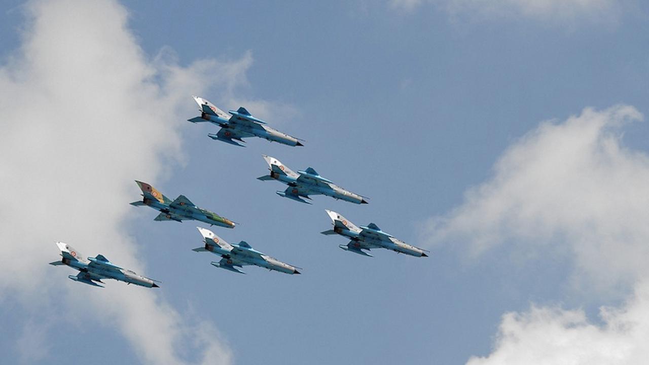 Руски изтребители ескортираха американски бомбардировач над Тихия океан