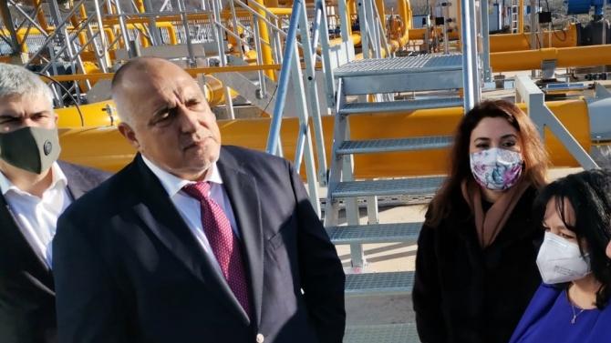 Борисов на първа инспекция за 2021 г.: Премиерът се похвали с азерския газ и отговори на критиките