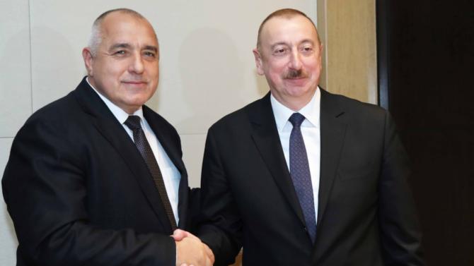 Борисов се чу с президента на Азербайджан по повод азерския газ
