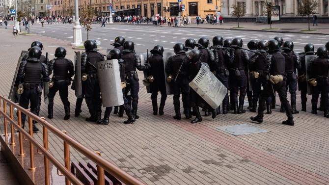 В Минск бе проведена първата за тази година демонстрация срещу Александър Лукашенко