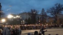 Възпоменателна церемония по повод 147 години от обесването на Васил Левски