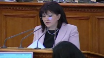 Караянчева предложи да се свикват заседания на НС, само когато има актове за извънредното положение