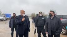 Борисов отиде лично да провери случващото се на българо - турската граница с ТИР-овете