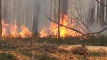 Пожарът край Чернобил се разшири