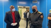 Премиерът Борисов посети ВМА, планува посещение до Италия