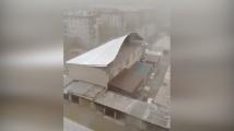 Мощна буря удари руски град