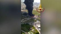 Двама души пострадаха при експлозия и пожар в италиански химически завод близо до Венеция