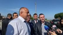 Борисов подкара джипката в Пазарджик, кметът на града го похвали