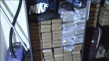 """Вижте акцията на полицията в """"Студентски град"""", при която бяха открити над 300 кг кокаин"""