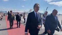 Борисов посрещна Вучич с почетен шпалир на летище София