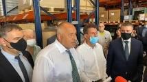 Борисов в Пазарджик: Аз не водя война, аз правя заводи