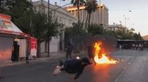 Затегнати мерки запалиха Атина