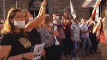Привърженици на ГЕРБ изпълниха центъра на София, Борисов ги поздрави