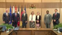 Борисов при подписването на концесията за летище София: Европейските ни партньори са добре дошли в България