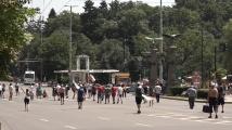 Протестиращи парализираха центъра на София