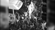 МВР разпространи кадри от момента на спирането на буса на Системата ни убива