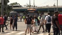 Протестиращи блокираха пътя към Тех Парк, където ще се състои Националната среща на ГЕРБ