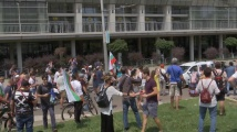 Напрежение пред Тех Парк, където се състоя Националната среща на ГЕРБ