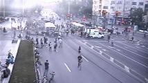 МВР показа снощния протест в София