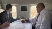 Борисов полетя с хеликоптер с чуждестранни инвеститори