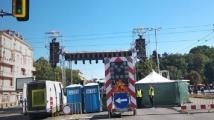 """Протестен митинг-концерт блокира кръстовището на """"Орлов мост"""""""