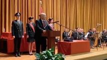 Иван Гешев взе участие в откриването на новата учебна година в Академията на МВР