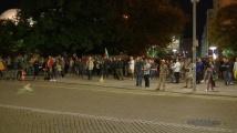 89-а вечер на протест в центъра на София