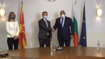 Борисов към македонския външен министър: Между страните ни не трябва да има политически игрички