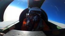 Русия показа битка на изтребители на 20 000 метра височина
